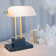 THE BANKER Desk Lamp - Moonlight - SCENE SHANG