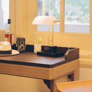THE BANKER Desk Lamp - Moonlight