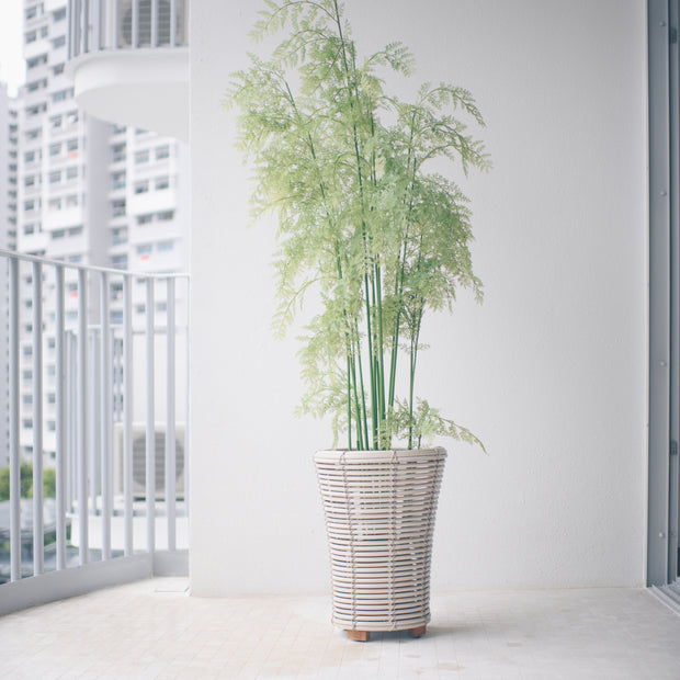 WEAVE Planter - Bamboo