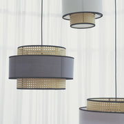 TENG Wicker Hanging Lamps