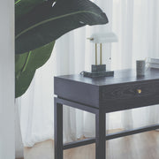 KIAN Old Elm Wood Desk - Midnight