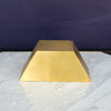 Brass Display Stand - Half Hexagon - SCENE SHANG