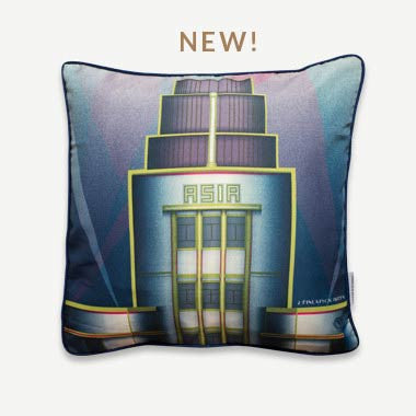 EMBRACE ME Cushion Cover – Asia Insurance Building