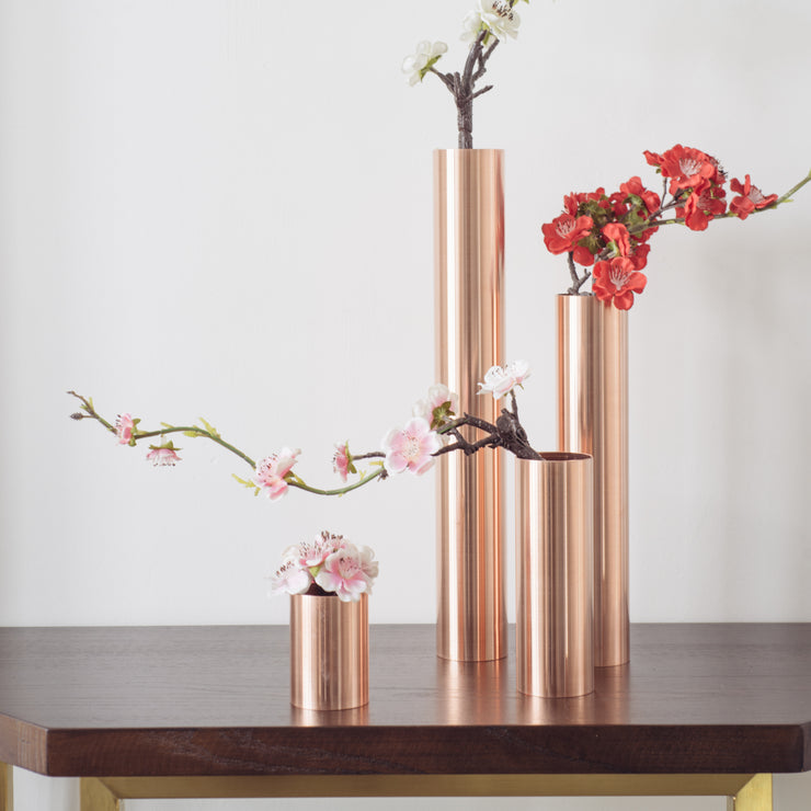 Copper Table Vase - SCENE SHANG
