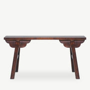 KIAN Old Elm Wood Gate Bench - SCENE SHANG