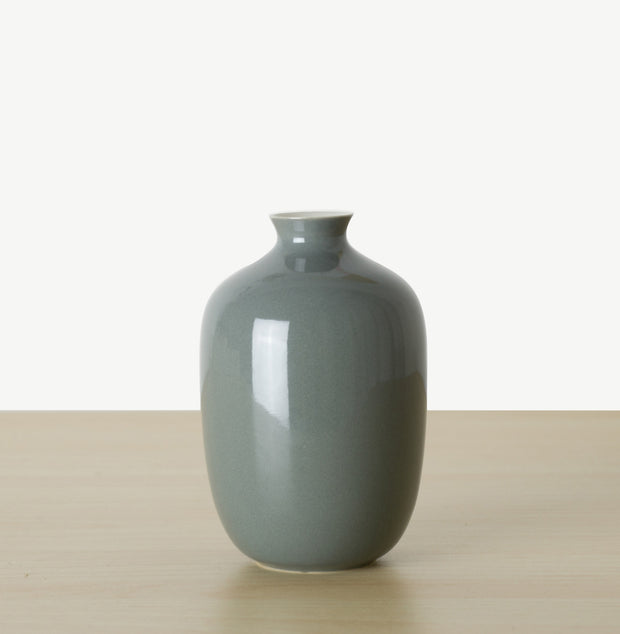 Plum Mini Vase - Glazed - SCENE SHANG