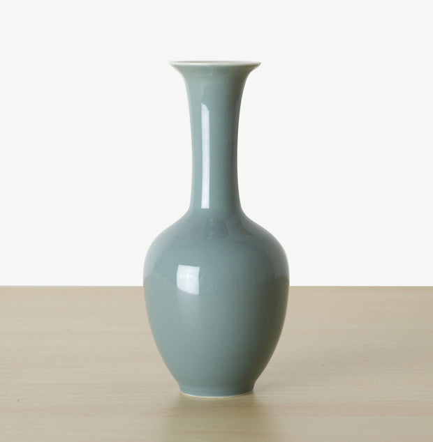 Lotus Mini Vase - Glazed - SCENE SHANG