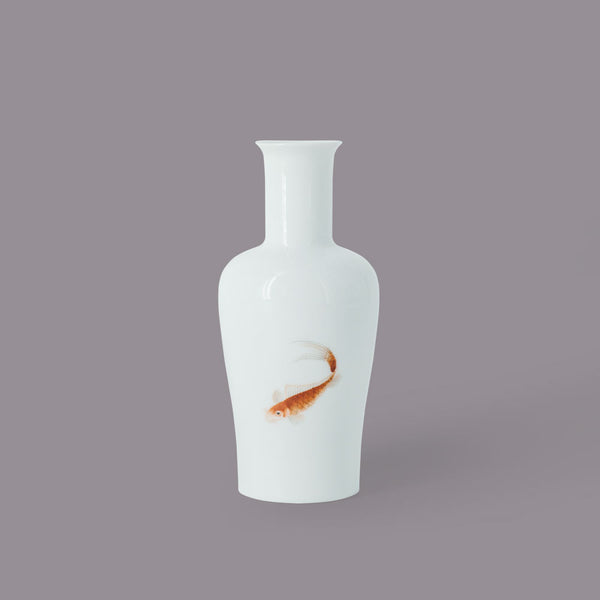 Hand Painted Mini Vases - Red Fish