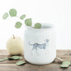 Hand Painted Vases - Scholar Greyhound