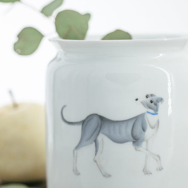 Hand Painted Vases - Scholar Greyhound - SCENE SHANG