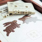 MusicCloth®Paper Cut Animals - Rabbits - SCENE SHANG