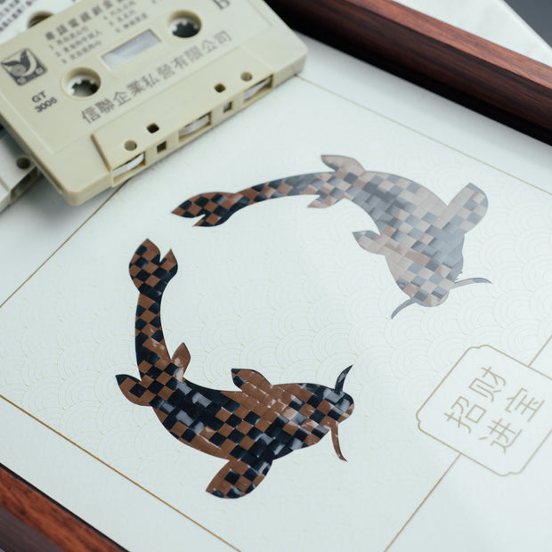 MusicCloth®Paper Cut Animals - Fishes - SCENE SHANG