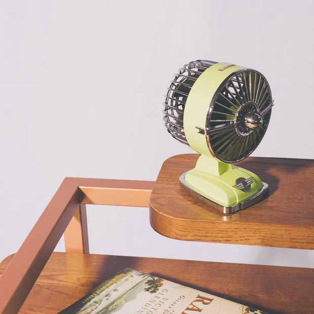 Art Deco Mini Desk Jet Fan
