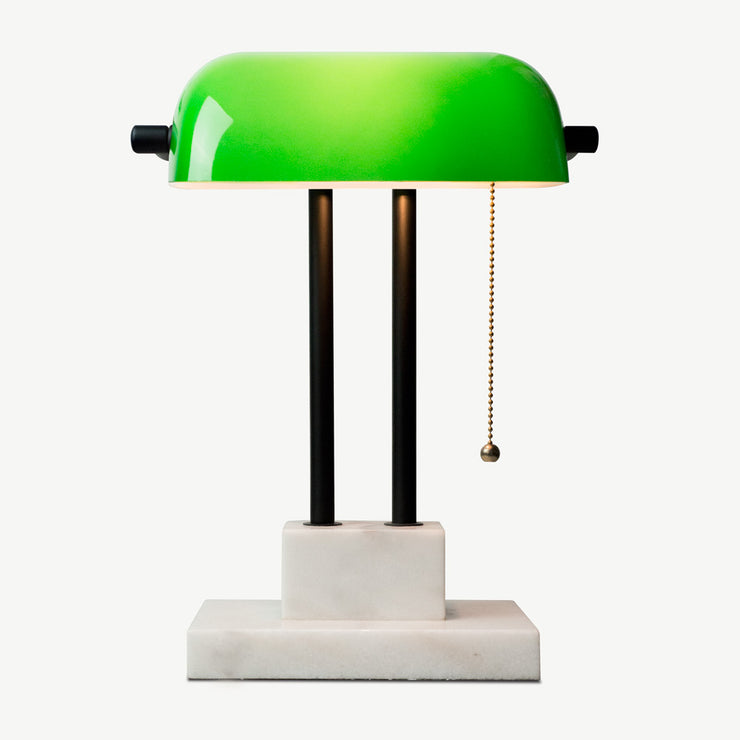 THE BANKER Desk Lamp - Emerald (Second Quality) - SCENE SHANG