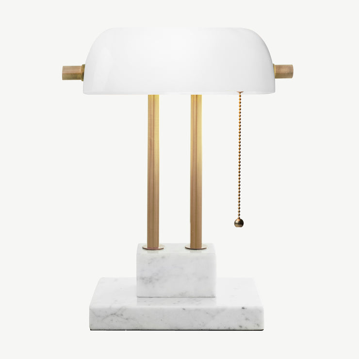 THE BANKER Desk Lamp - Pearl (Second Quality)