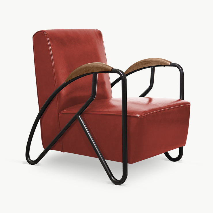 THE MAVERICK Armchair - Oxblood - SCENE SHANG