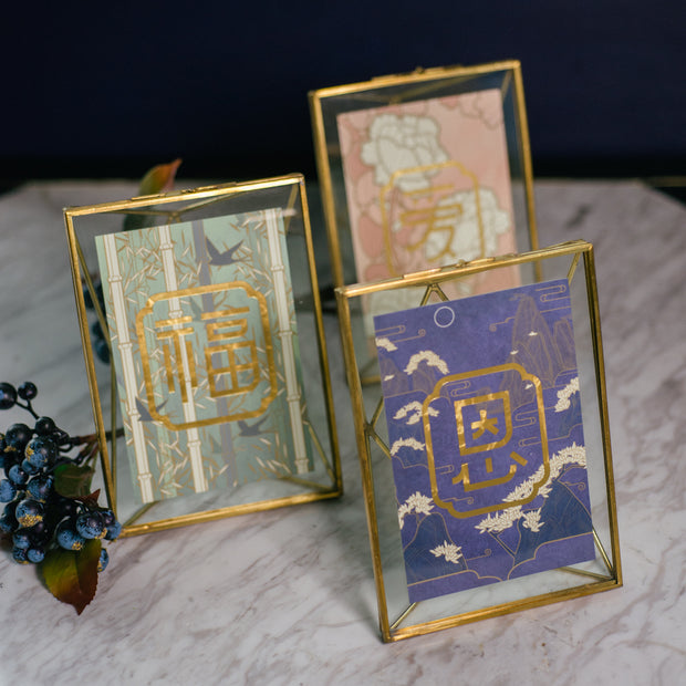 GRACE 恩 with Brass Frame - SCENE SHANG