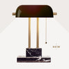THE BANKER Desk Lamp - Eclipse