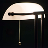 The Banker Lamp - Ivory