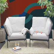 YANG High Low Armchair - Left - SCENE SHANG