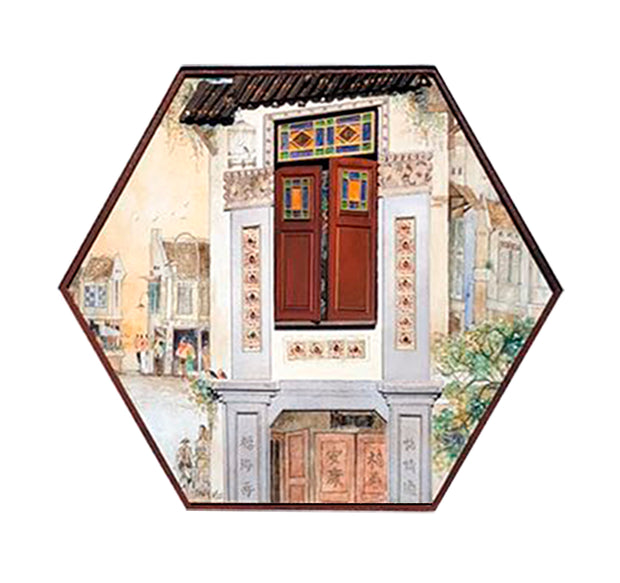 YUAN Mini Windows by Arthur P.Y. Ting - Chinatown II - SCENE SHANG