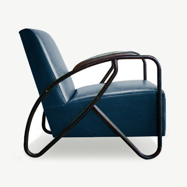 THE MAVERICK Armchair - Navy - SCENE SHANG