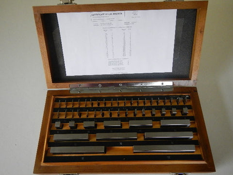 Gauge Block Set M32 Tungsten Carbide