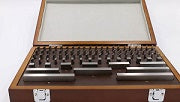Gauge Block Set Metric Steel 87 blocks with UKAS Certificate