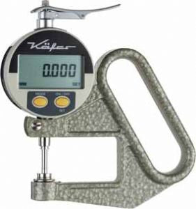 KÄFER Digital Thickness Gauge FD 50 with Lifting Device - Reading: 0.001 mm