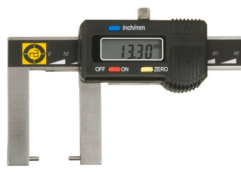 Mapra Q1 Digital Vernier Calipers Outside Groove