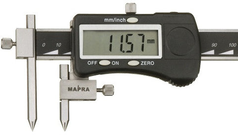 Mapra Q1 Digital Vernier Calipers Centre Distance