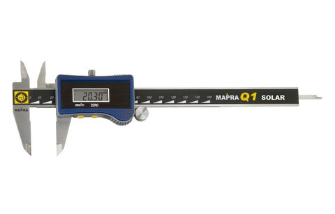 Mapra Q1 Digital Vernier Caliper Solar Powered (0-150mm)