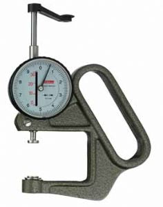 KAFER Dial Thickness Gauge K 50/2/3 - Reading: 0.1 mm