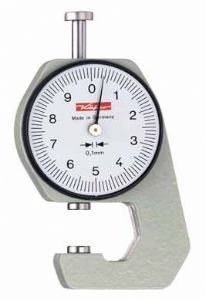 KAFER Pocket Dial Thickness Gauge K15 - Reading: 0.1 mm