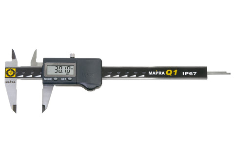 Mapra Q1 Digital Vernier Calipers IP67
