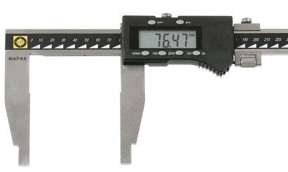 Mapra Q1 Digital Vernier Calipers Nib Jaw Large