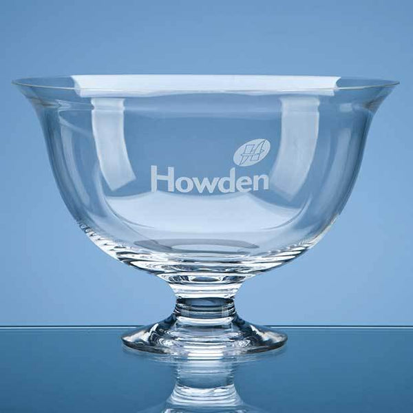 C48P -   23cm Dartington Crystal Fortuna Bowl - (Fully Engraved)