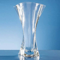 31.5cm Crystalite Flared Orbit Vase