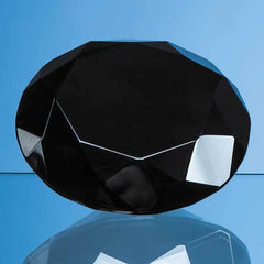 10cm Onyx Black Diamond Paperweight