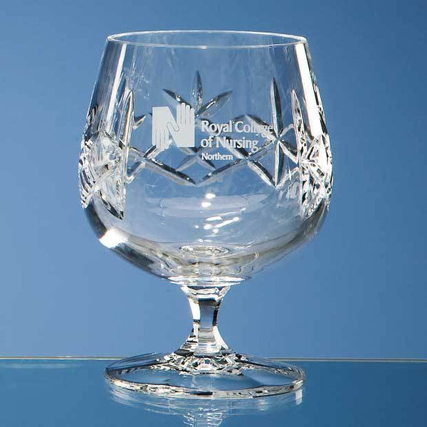 HM65P -   250ml Flamenco Crystalite Panel Brandy - (Fully Engraved)