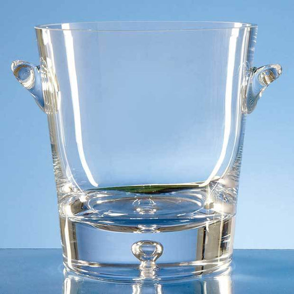 L218P -   2ltr Handmade Bubble Base Champagne Bucket - (Fully Engraved)