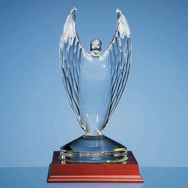 MC10P -   23.5cm Mario Cioni Lead Crystal Victor Award - (Fully Engraved)