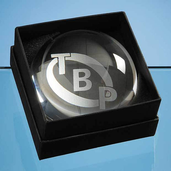 PB15P -   Dome Paperweight Leatherette Box (BOX ONLY)