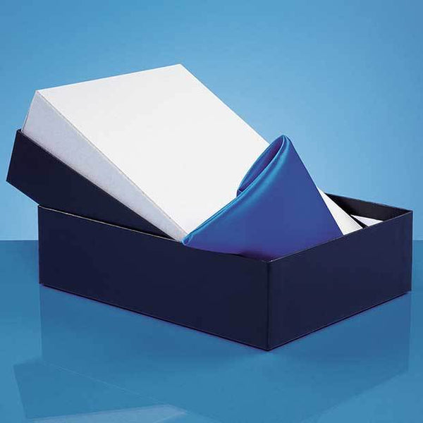 PB19P -   Universal 2 Glass/Award Satin Lined Presentation Box* (BOX ONLY)