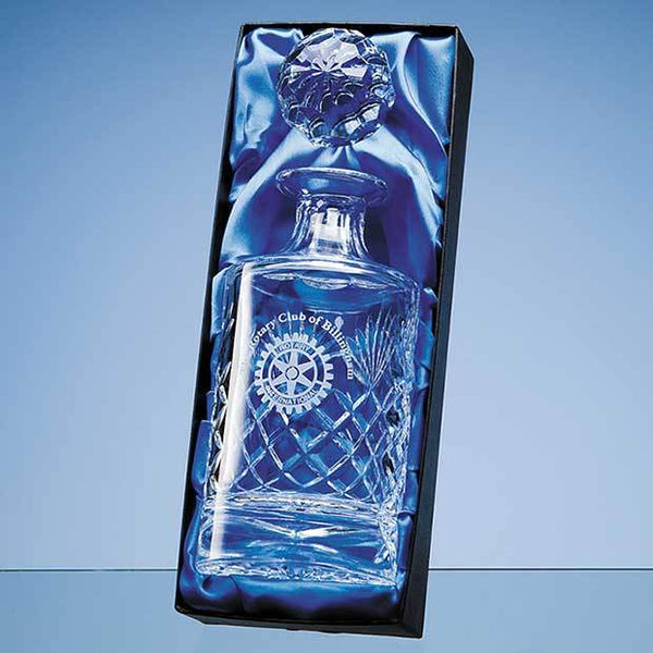 PB52P -   Spirit Decanter Satin Lined Presentation Box (BOX ONLY)