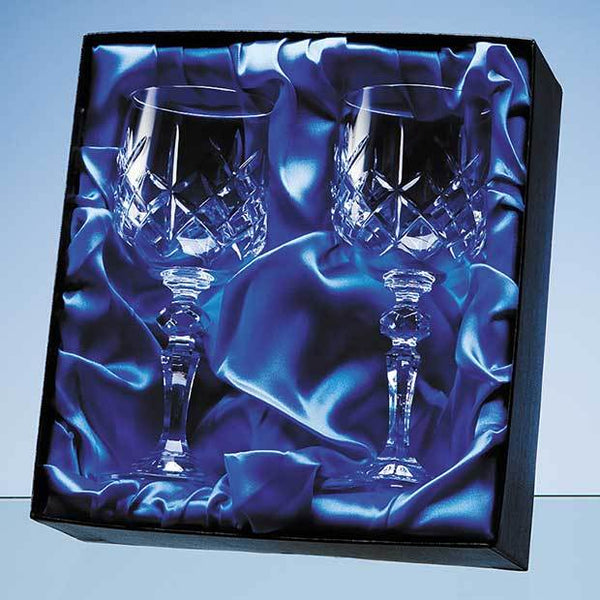 PB53P -   Goblet Pair Satin Lined Presentation Box (BOX ONLY)