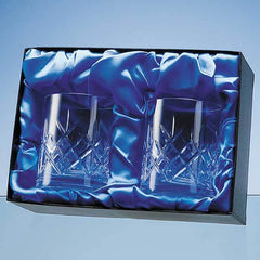 Whisky Tumbler Pair Satin Lined Presentation Box (BOX ONLY)
