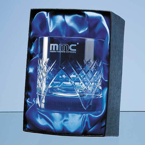 Single Whisky Tumbler Satin Lined Presentation Box (BOX ONLY)