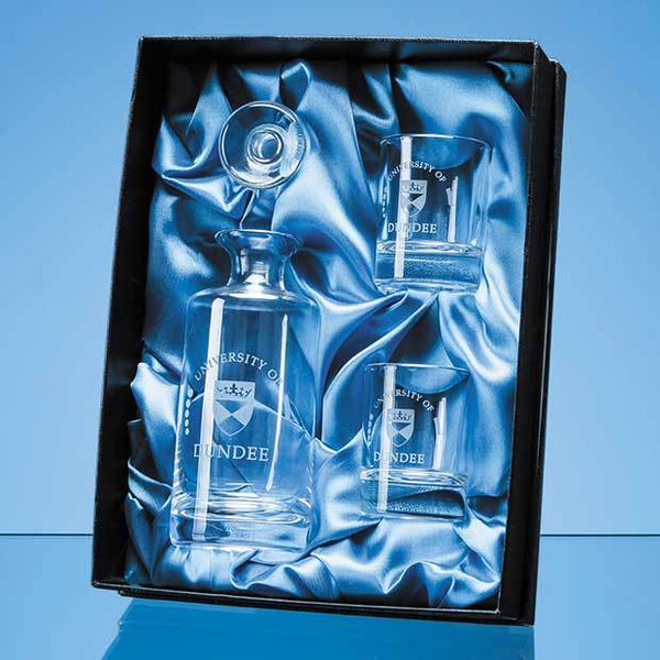PB61P -   Mini Decanter Set Satin Lined Presentation Box (BOX ONLY)