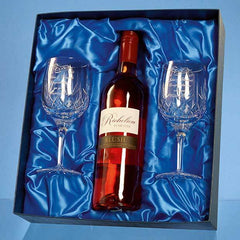 Wine Set Satin Lined Presentation Box (BOX ONLY)